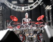 Jeremy Spencer - Five Finger Death Punch - at Gwinnett Arena, Duluth GA - 11 Oct 2014