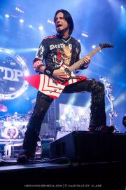 Jason Hook - Five Finger Death Punch - at Gwinnett Arena, Duluth GA - 11 Oct 2014