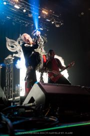 Ivan Moody, Zoltán Báthory - Five Finger Death Punch - at Gwinnett Arena, Duluth GA - 11 Oct 2014