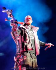 Ivan Moody - Five Finger Death Punch - at Gwinnett Arena, Duluth GA - 11 Oct 2014