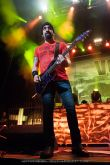 Rob Caggiano of Volbeat - at Gwinnett Arena, Duluth GA - 11 Oct 2014