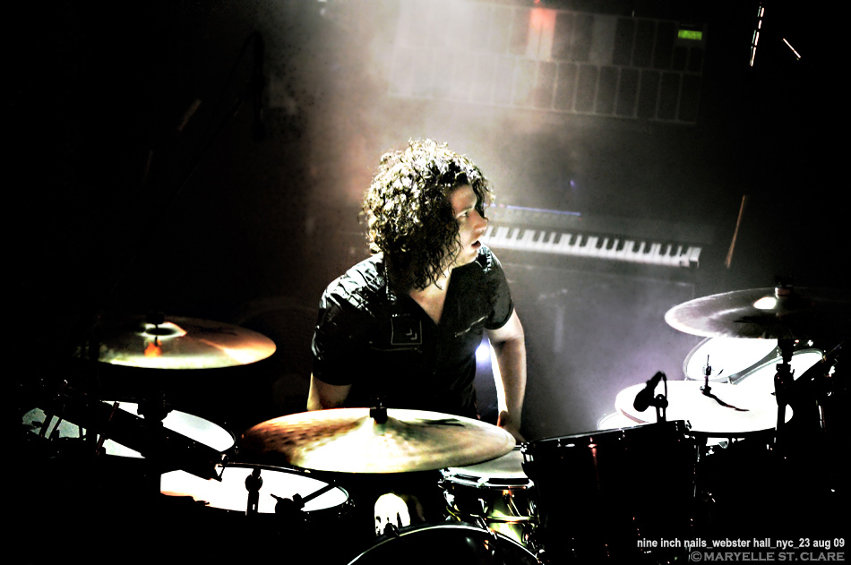 Ilan Rubin | Nine Inch Nails @ Webster Hall, New York City 23 Aug 2009