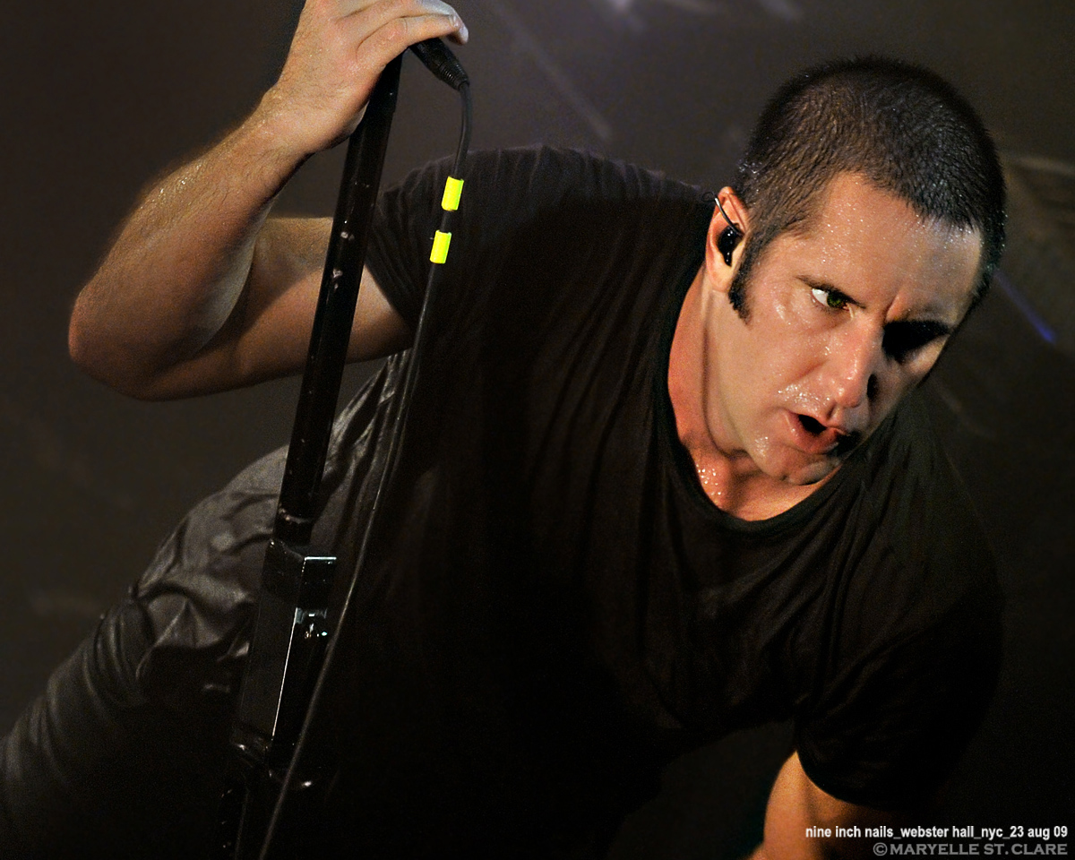 Trent Reznor | Nine Inch Nails @ Webster Hall, New York City 8/23/09