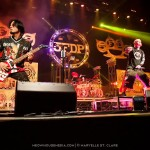 11 Oct 2014, Duluth GA: Five Finger Death Punch -  Ivan Moody, vocals; Zoltan Bathory, guitars; Jason Hook, guitars; Chris Kael, bass; Jeremy Spencer, drums. At Gwinnett Arena, playing with Hellyeah and Volbeat.