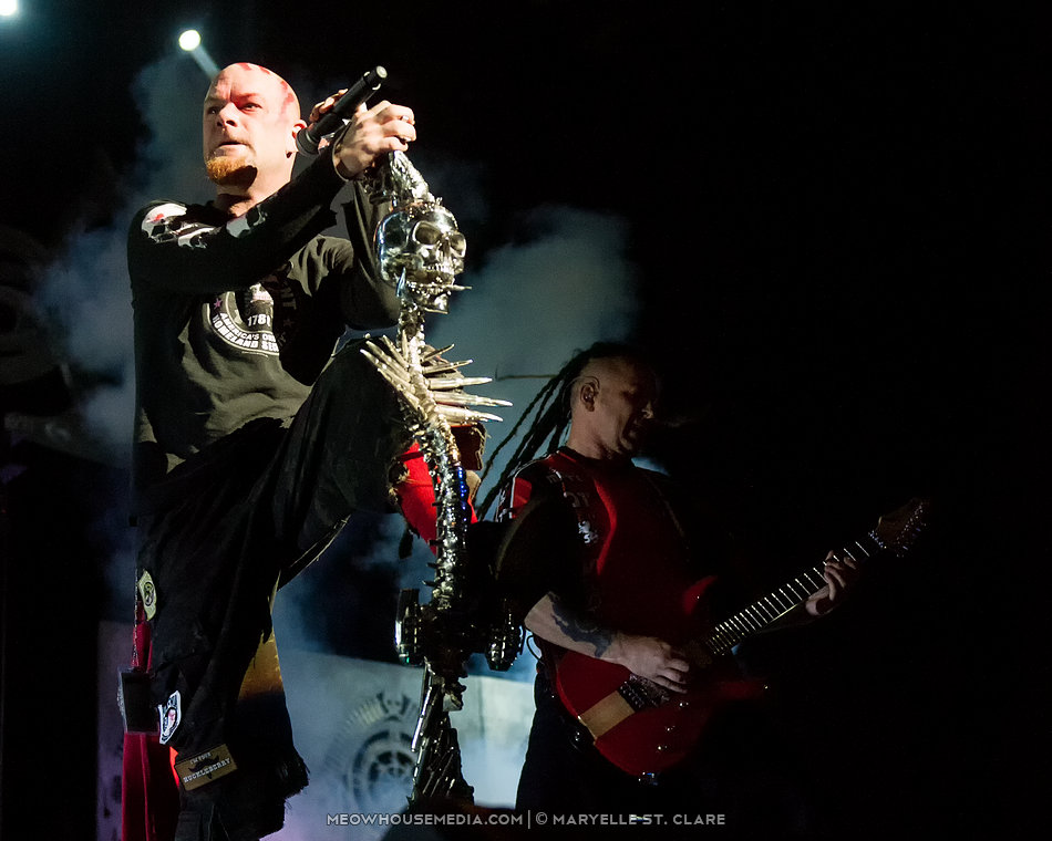 Five Finger Death Punch - at Gwinnett Arena, Duluth GA - 10/11/14