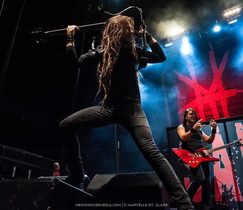 Kyle Sanders - HELLYEAH - at Gwinnett Arena, Duluth GA, 11 Oct 2014