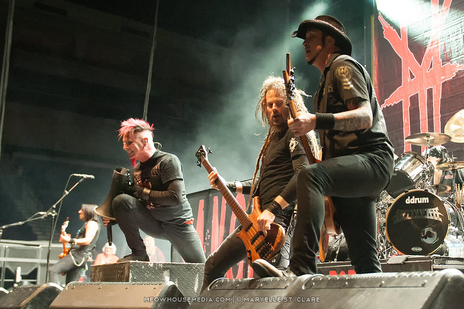 Hellyeah - at Gwinett Arena, Duluth GA - 11 Oct 2014