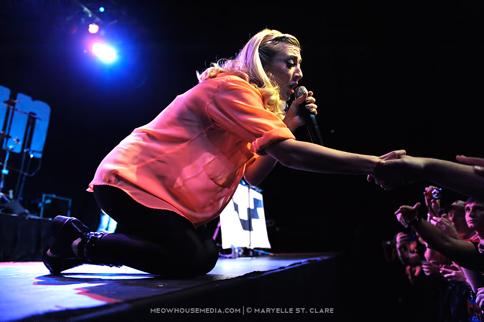 Karmin - at Center Stage, Atlanta, GA - 12 Apr 2014
