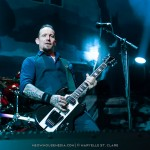Michael Poulsen - Volbeat - at Gwinnett Arena, Duluth GA - 11 Oct 2014