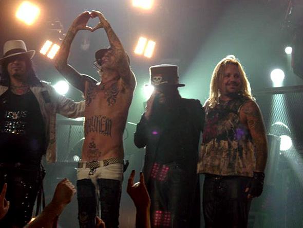 Mötley Crüe - Vancouver BC - Aug 11 2008