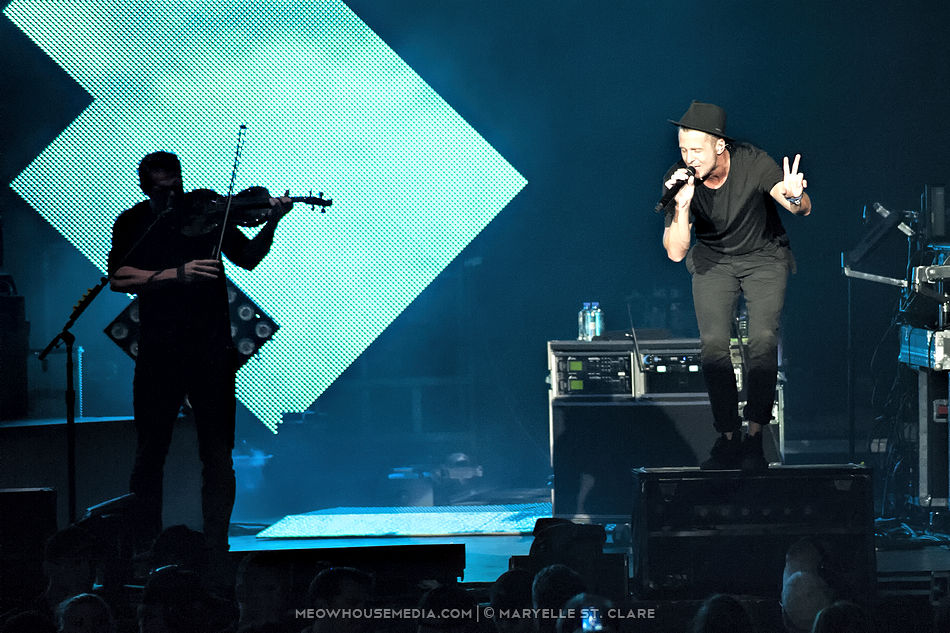"OneRepublic - Aaron's Ampitheater at Lakewood - Atlanta, GA, 19 Aug 2014. On the ""Native Summer"" tour."