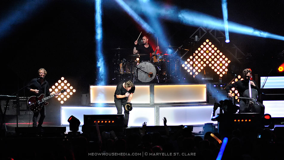 OneRepublic - Aaron's Ampitheater at Lakewood - Atlanta, GA, 19 Aug 2014.