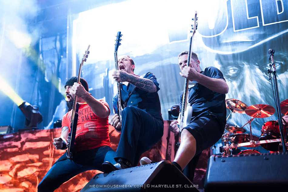 Volbeat - at Gwinnett Arena, Duluth GA, 11 Oct 2014