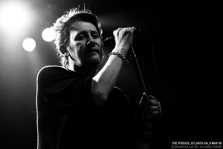 Shane MacGowan - The Pogues - 9 Mar 2009
